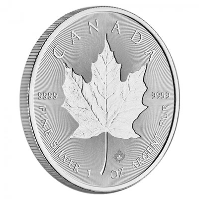 1 oz RCM Silver Incuse Maple