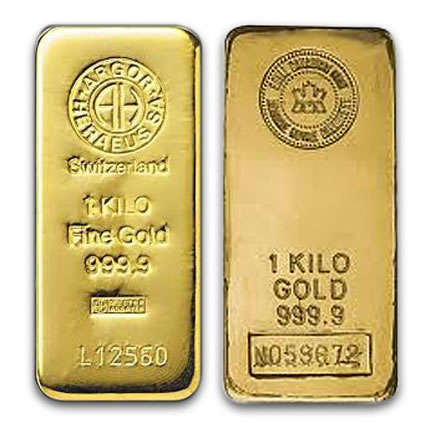 1 kg Recognised Gold Bar